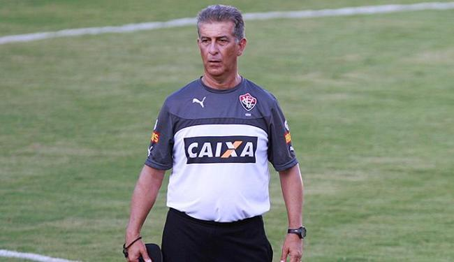 Técnico do Vitória diz é preciso cautela ao debutar na competição - Foto: Joá Souza | Ag. A TARDE