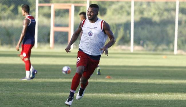 O jogador de 21 anos ficará no Bahia até o fim da temporada - Foto: Fernando Amorim | Ag. A TARDE