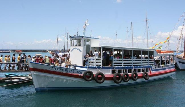 Travessia opera com oito embarcações neste domingo - Foto: Fernando Vivas | Ag. A TARDE