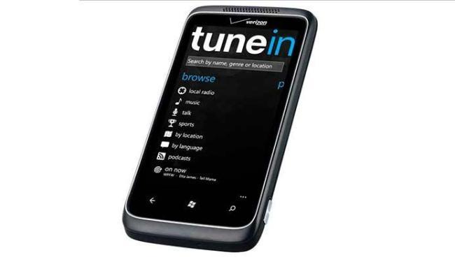 Tune In é um dos aplicativos no qual usuário pode escolher suas músicas - Foto: Divulgação