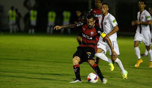 Leão criou várias oportunidades, mas parou na pontaria ruim de seus atletas e nas defesas do goleiro - Foto: Fernando Amorim | Ag. A TARDE