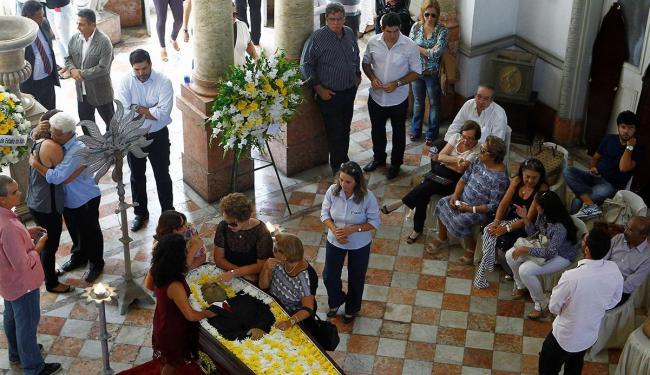 Corpo foi velado no Palácio da Aclamação - Foto: Eduardo Martins | Ag. A TARDE
