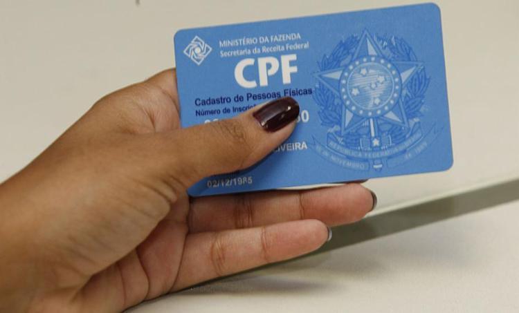 Atualmente, só é exigido CPF de maiores de 12 anos - Foto: Margarida Neide | Ag. A TARDE | 06.06.2011