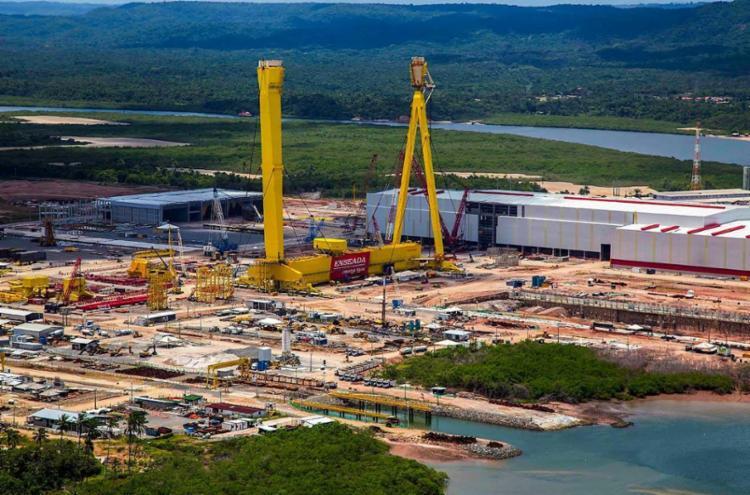 Estaleiro tem mais de 80% das obras concluídas - Foto: Divulgação