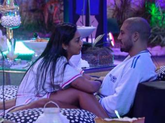 Casal relembra atitudes durante o programa - Foto: Reprodução | TV Globo