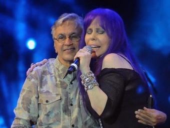Caetano e Gil cantam em homenagem ao Rio - Foto: Alexandre Durão/G1