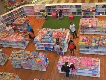 Feira de livros infantil até hoje em Salvador - Foto: Divulgação