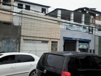 Fachada do imóvel (de nº 11) não foi danificada - Foto: Edilson Lima   Ag. A TARDE