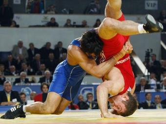 Força e técnica dos lutadores serão mostradas em Salvador - Foto: David Mdzinarishvili | Ag. Reuters