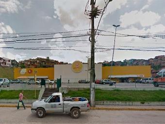 Crime aconteceu dentro de supermercado - Foto: Reprodução | Google Maps