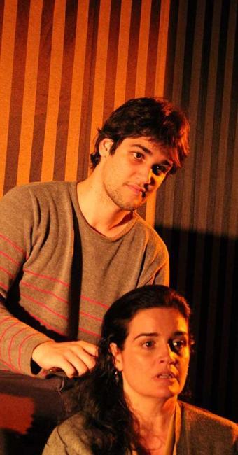 Tato Sanches e Vivian Laert em Dissidentes - Foto: Gordo Neto | Divulgação