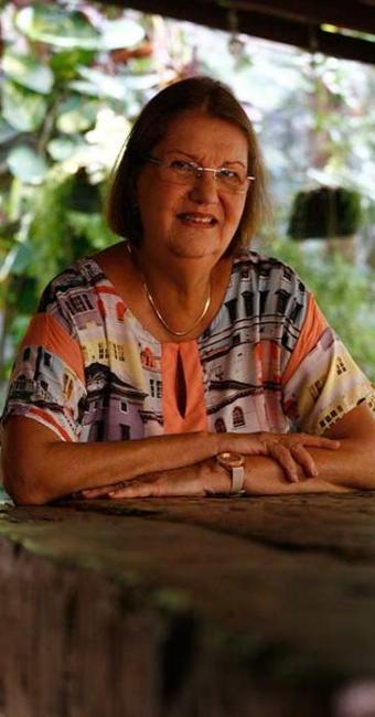 Evelina vai assumir a Academia de Letras da Bahia - Foto: Fernando Amorim | Ag. A TARDE