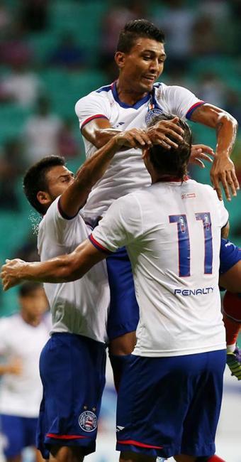 Parceria tem se destacado neste início de temporada - Foto: Felipe Oliveira | EC Bahia | Divulgação