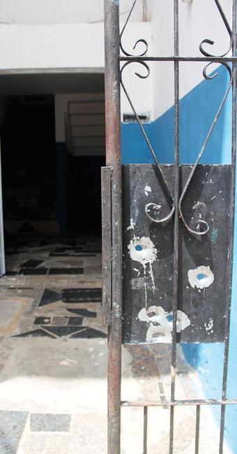 Luís Vagner foi baleado na porte de casa - Foto: Edilson Lima | Ag. A TARDE