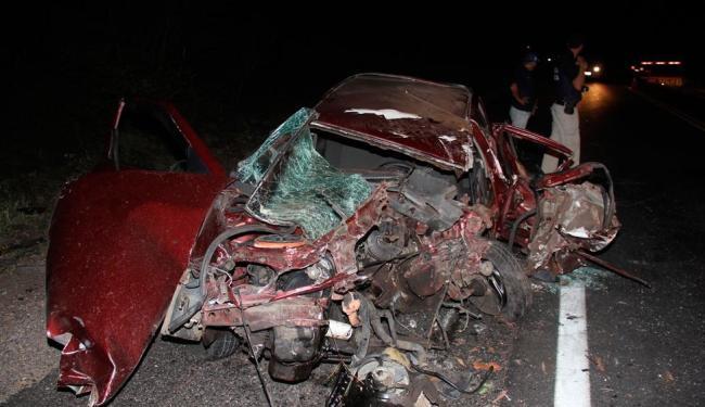 Vereador tentou desviar de motos acidentadas e bateu de frente com caminhão - Foto: Reprodução | Calila Notícias