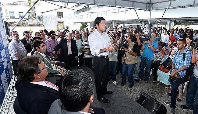 Neto afirmou que buscou conciliar qualificação e visão política nas nomeações - Foto: Max Haack l Agecom