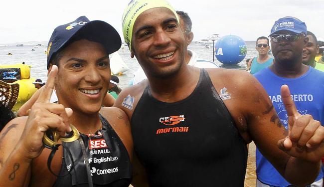 Ana Marcela e Allan do Carmo têm chance de conquistar medalha - Foto: Eduardo Martins | Ag. A TARDE