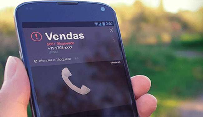 Aplicativo bloqueia números de vendas, telemarketing e trotes - Foto: Divulgação