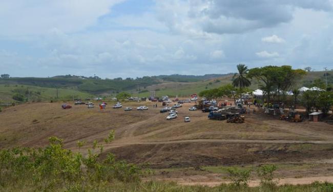 Terreno de 4.200 metros quadrados dará lugar ao complexo de esportes de velocidade - Foto: Roberto Monteiro   Divulgação FAB
