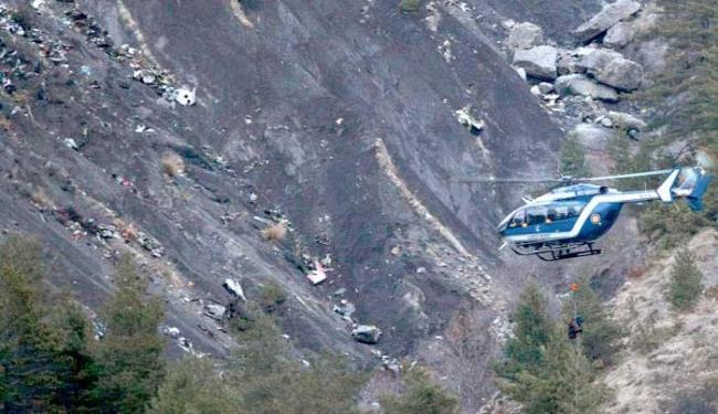 Avião caiu em uma altitude de cerca de 2 mil metros (6.550 pés) em Meolans-Revels - Foto: Agência Associated Press