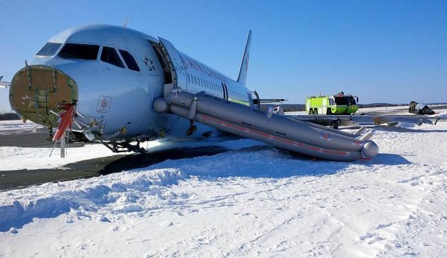 A aeronave fez um pouco de emergência no aeroporto de Halifax - Foto: Ag. Reuters
