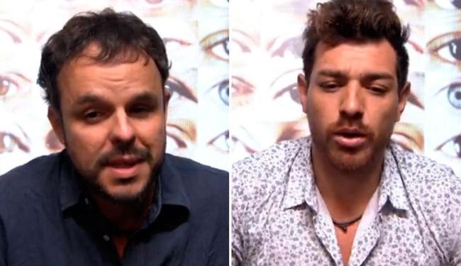 indicado pela líder Amanda, Adrilles votou em Cézar e disputa paredão com ele - Foto: Reprodução | TV Globo
