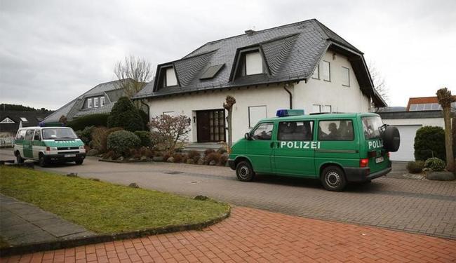 Casa do copiloto Andreas Lubitz em Montabaur, no Estado da Renânia-Palatinado - Foto: Kai Pfaffenbach l Reuters