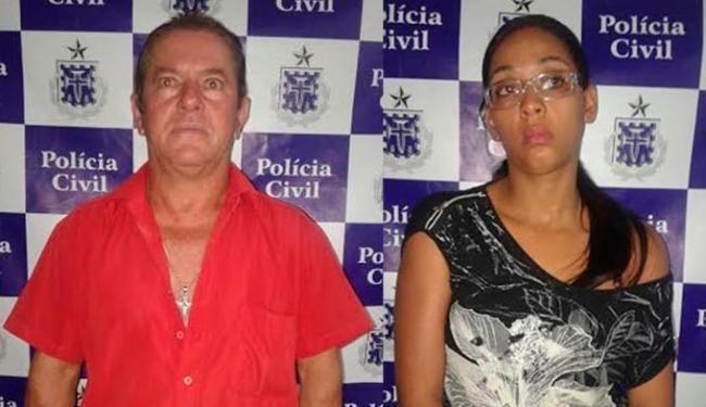 O flagrante aconteceu enquanto o casal realizava saque em uma agência bancária - Foto: Divulgação   Polícia Civil