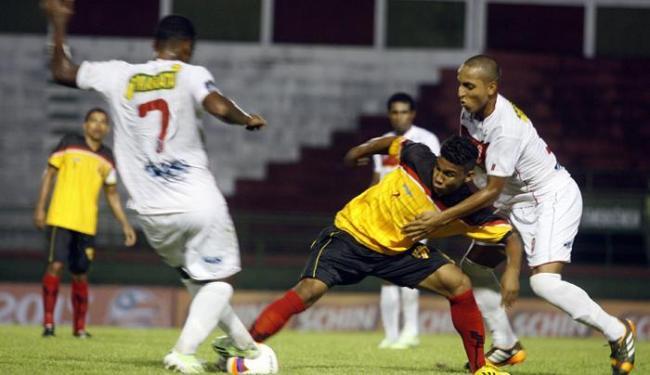Catuense e Serrano jogaram diante de 42 pagantes, pior público da competição, no Joia da Princesa - Foto: Luiz Tito | Ag. A TARDE