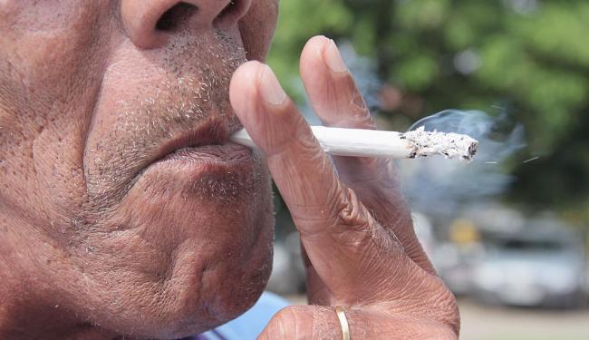 Consumo de produtos derivados do tabaco caiu em todo o mundo - Foto: Joá Souza | Ag. A TARDE