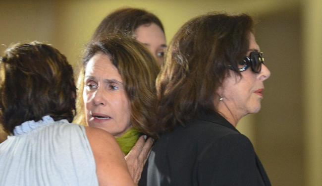 Familiares e amigos dão último adeus ao ator Claudio Marzo durante velório no Rio de Janeiro - Foto: Marcelo Fonseca | Estadão Conteúdo