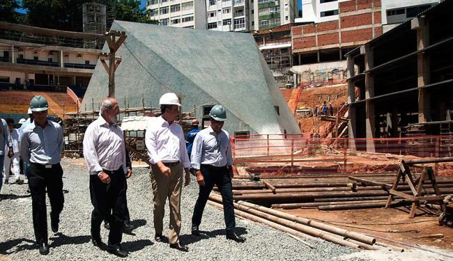Rui Costa visitou as obras nesta quarta-feria, 18 - Foto: Adenor Gondim | GovBa