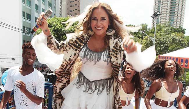 Após 20 anos, Daniela voltou ao circuito Campo Grande no Carnaval deste ano - Foto: Lúcio Távora | Ag. A TARDE