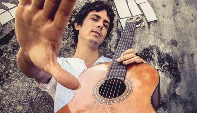 Danilo Fonseca apresenta o show Caxo Sonoro - Foto: Zé Liveira | Divulgação