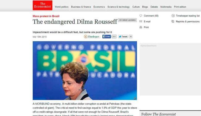 Na semana passada, a revista questionou a possibilidade de impeachment de Dilma - Foto: Reprodução