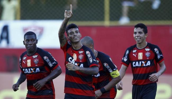 Vander marcou um dos gols do time baiano - Foto: Eduardo Martins   Ag. A TARDE