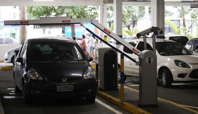 Justiça liberou cobrança de estacionamento em shoppings - Foto: Lúcio Távora | Ag. A TARDE