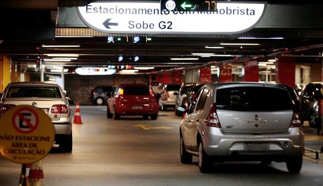 Supremo Tribunal Federal liberou a cobrança de estacionamento em shoppings - Foto: Mila Cordeiro   Ag. A TARDE