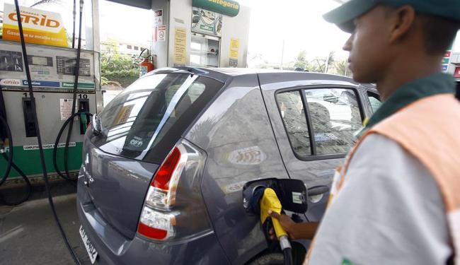 O etanol permaneceu competitivo apenas em Goiás, no Mato Grosso, Paraná e em São Paulo - Foto: Joá Souza | Ag. A TARDE | 08.10.2014