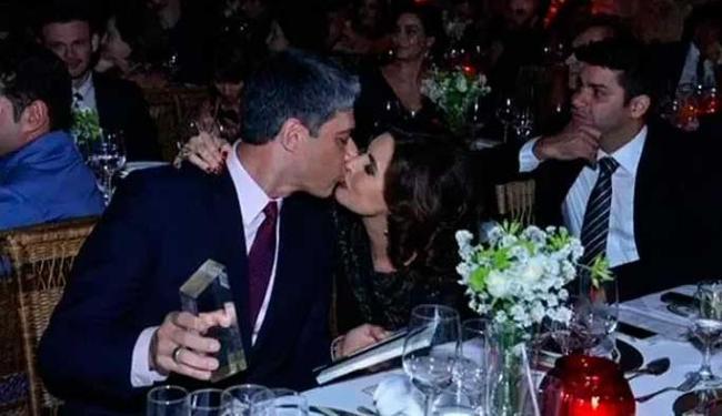 Incidente aconteceu após premiação que Fátima e Bonner participaram - Foto: Reprodução   TV Globo