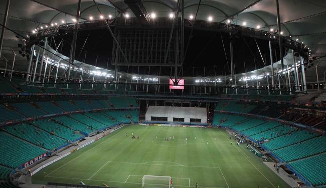 OAS, que administra Fonte Nova, teve ações bloqueadas e pode se desfazer do investimento na arena - Foto: Lúcio Távora | Ag. A TARDE