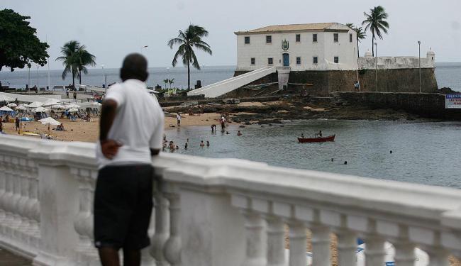 Depois de restaurado, o Forte Santa Maria abrigará exposição permanente do fotógrafo Pierre Verger - Foto: Raul Spinassé   Ag. A TARDE