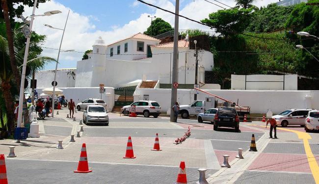 Alteração do trânsito com a requalificação gerou queixas - Foto: Edilson Lima   Ag. A TARDE