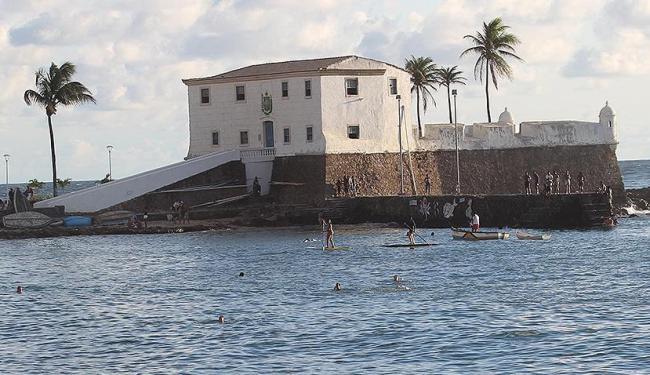 Fortes foram construídos no século XVII e serviam de proteção contra os inimigos - Foto: Lucio Tavora | Ag. A TARDE