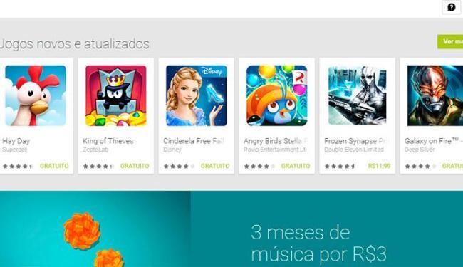 Google Play vai ser mais rigoroso na liberação de aplicativos - Foto: Reprodução