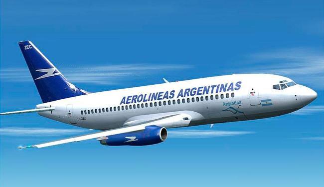Voo diário da Aerolíneas Argentinas foi cancelado e tripulação permanece em hotel - Foto: Divulgação