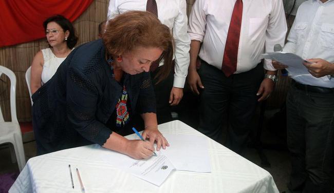 Ministra firma convênios para políticas de Direitos Humanos na Bahia - Foto: Elói Corrêa | GovBA