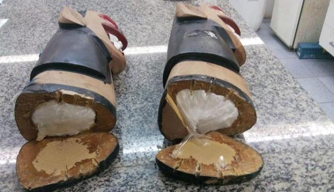 A droga estava no interior dos objetos - Foto: Divulgação | Polícia Federal