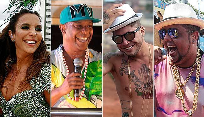 Músicas cantadas por Ivete, Marcio Victor, Igor Kannário e Neto LX estão entre as finalistas - Foto: Arquivo A TARDE
