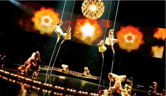 Cirque du Soleil está avaliado em US$ 2 bilhões - Foto: Divulgação